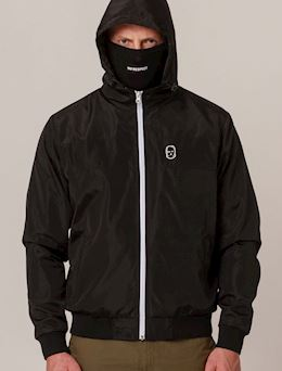 Windbreaker NO RESPECT Black