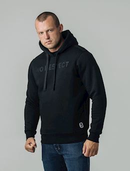 Hoodie NO RESPECT Craft Black