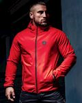 "Full Face Softshell Jacket ""Offensive"" Red"