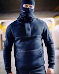 "Full Face Hoodie ""Front Line 20"" Navy"