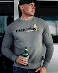 "Sweatshirt ""Matchday"" Grey"