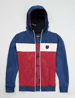 "Full Face Jacket ""Invader"" Blue/Red"