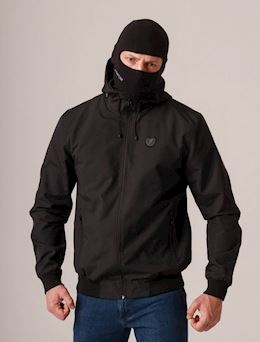 "Full Face Jacket ""Capo"" Black"