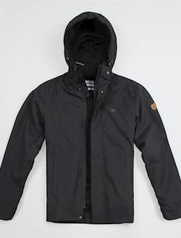 "Full Face Jacket ""Attack"" Zip Black"