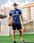 "Football Jersey ""UEFA MAFIA"" Navy"