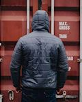 Reversible Winter Jacket Storm Grey